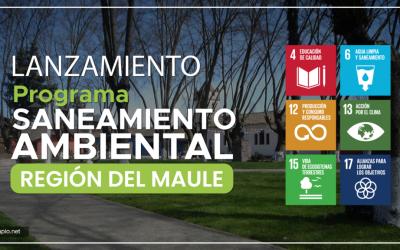 Tercer Programa de Saneamiento Ambiental se realizará en la Región del Maule – Chile